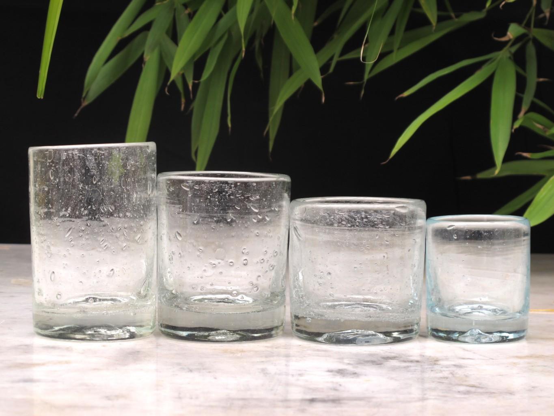 Bicchiere L to R : XXL, L, M, S