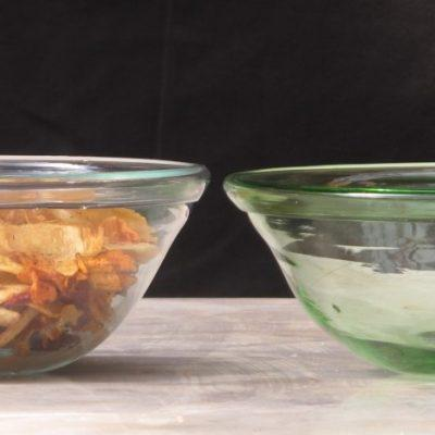 Berzona Salade Bowl Big Transparent Green