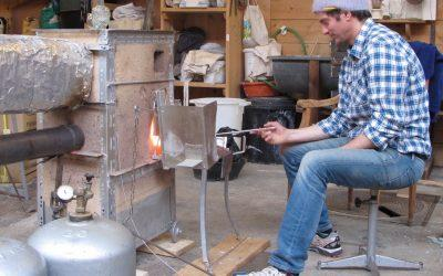 Spreading the glassblowing love