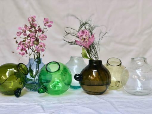 la-soufflerie-vase-boule-hanging-vase-olive-light-blue-green-smoky-dark-brown-yellow-transparent-hand-blown-recycled-glass