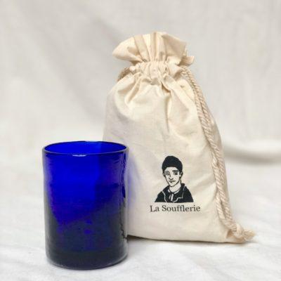 la-soufflerie-murano-moyen-blue-drinking-glass-cotton-gift-bag