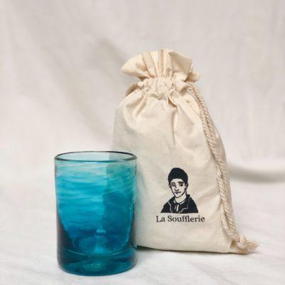 la-soufflerie-murano-moyen-turquoise-drinking-glass-hand-blown-recycled-glass-cotton-gift-bag