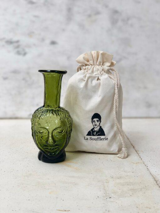 la-soufflerie-vase-tete-olive-face-vase-head-vase-hand-blown-recycled-glass