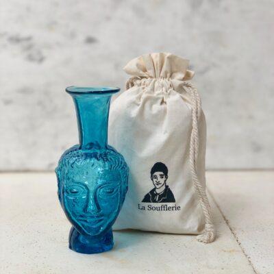la-soufflerie-vase-tete-turquoise-face-vase-head-shaped-vase-recycled-glass-bud-vase