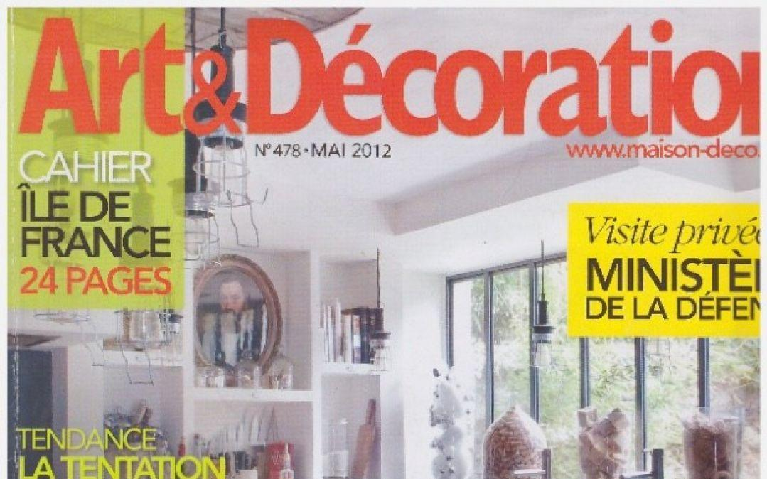 Art & Decoration – May 2012
