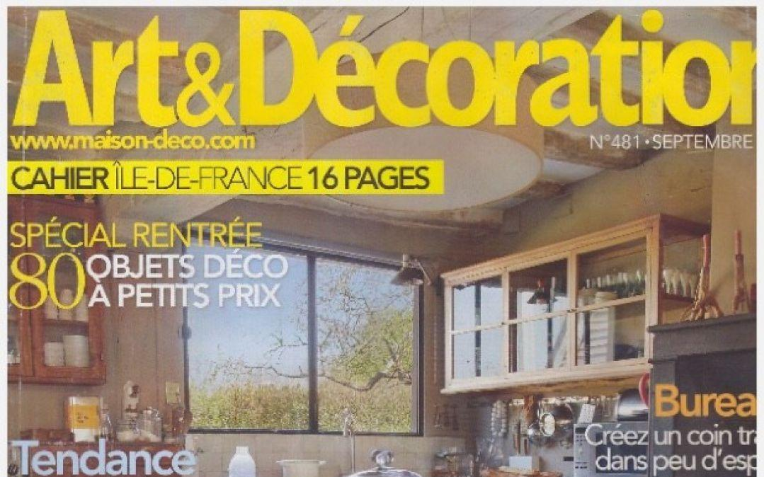 Art & Décoration – September 2012
