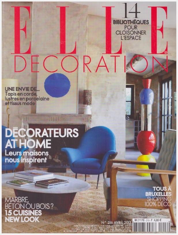 ELLE Décoration - Avril 2013