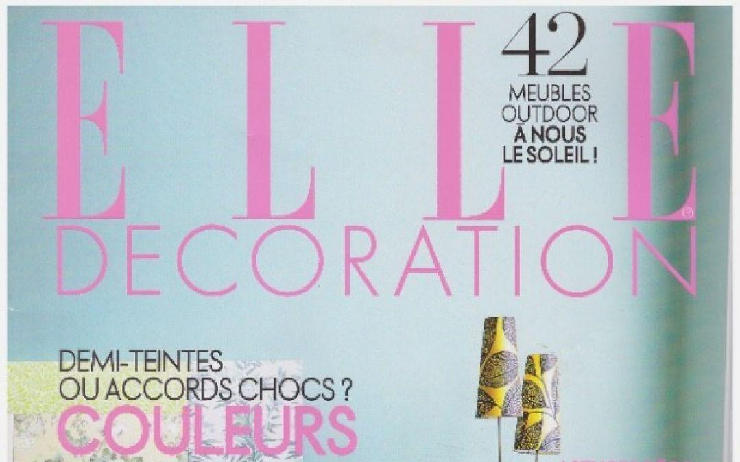 ELLE Decoration – May 2013