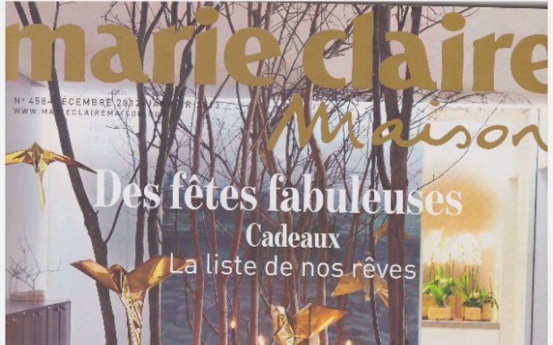Marie Claire Maison – December 2012