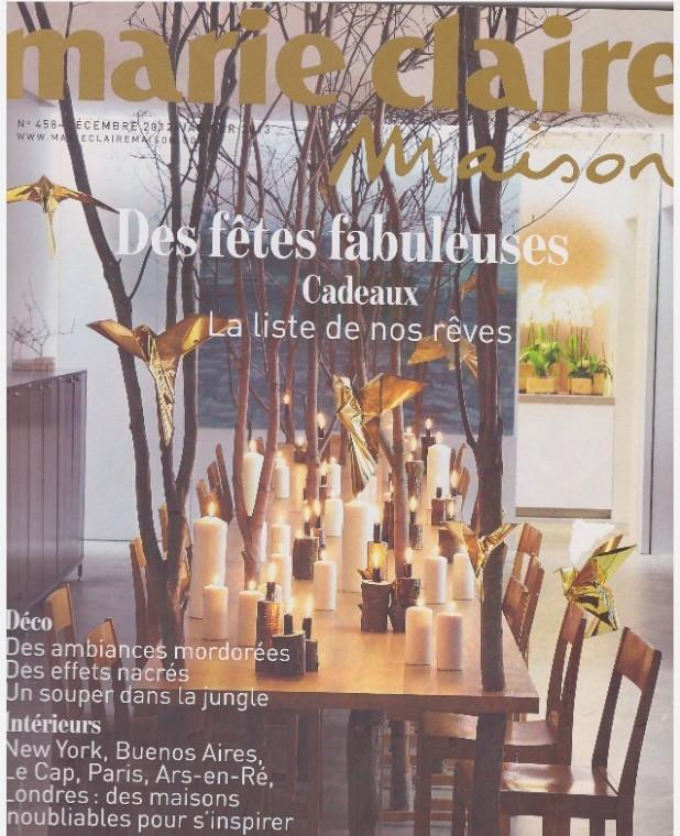 Marie Claire Maison - Décembre 2012