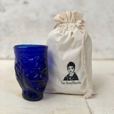 la-soufflerie-head-shaped-drinking-glass-blue-recycled-glass