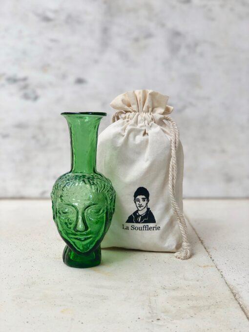 la-soufflerie-vase-tete-green-face-vase-hand-blown-recycled-glass