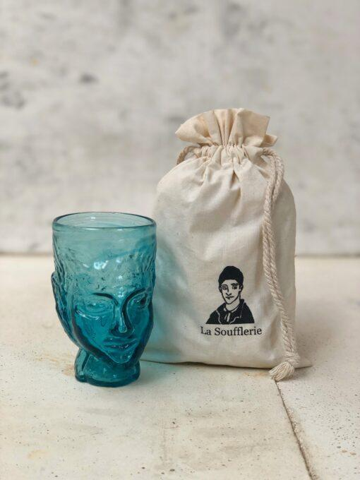 la-soufflerie-verre-tete-head-shaped-glass-turquoise-recycled-glass