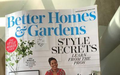Better Homes and Garden – August 2017