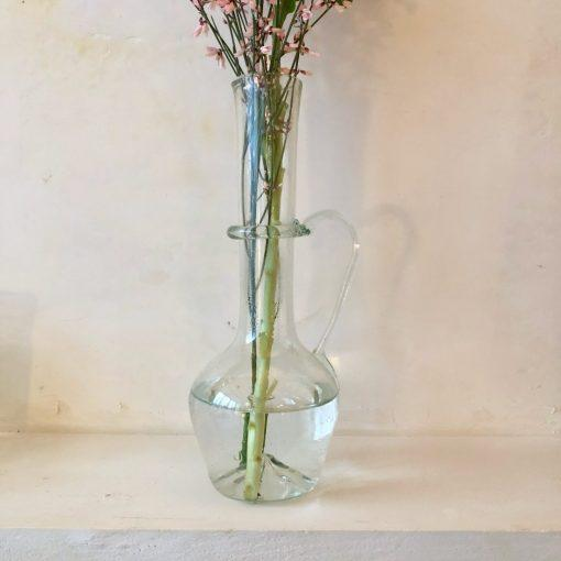 la-soufflerie-fiala-transparent-carafe-with-handle-vase-handblown-recycled-glass