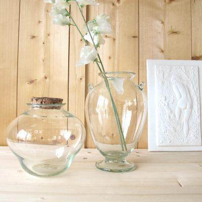 la-soufflerie-jarre-vase-two-handles-transparent-hand-blown-recycled-glass