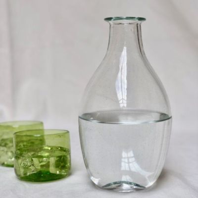la-soufflerie-bouteille-cidre-transparent-verre-palais-glass-hand-blown-recycled-glass