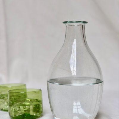 la-soufflerie-bouteille-cidre-transparent-verre-palais-glass-hand-blown-recycled-glass