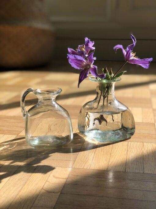 la-soufflerie-bagno-carré-vase-carafe-with-handle-without-handle-transparent-hand-blown-from-recycled-glass