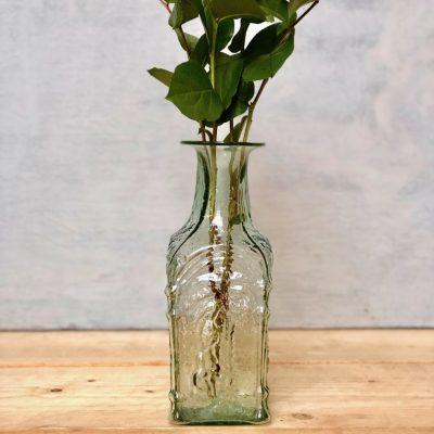 dates beveled vase carafe