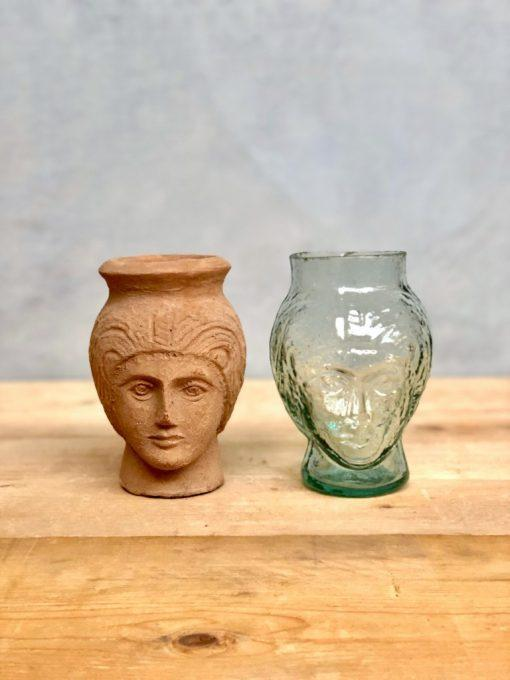 la-soufflerie-deborah-head-shaped-vases-in-terracotta-and-transparent-recycled-glass