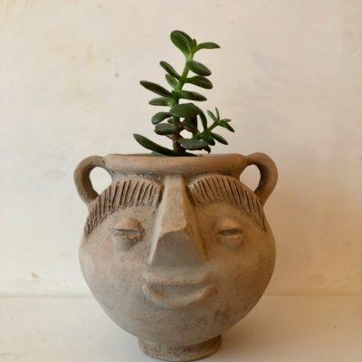 la-soufflerie-pitchoune-terracotta-head-shaped-vase-face-vase-handmade