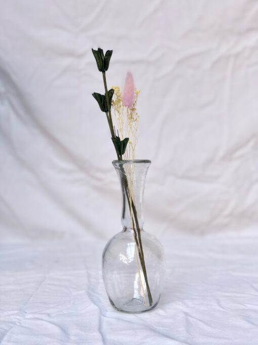 la-soufflerie-capelli-bottle-vase-transparent-hand-blown-recycled-glass