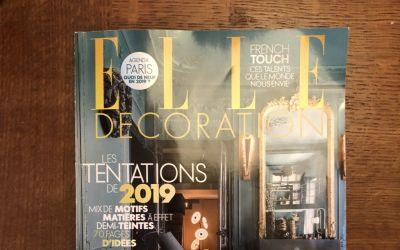 Elle Decoration France, January 2019