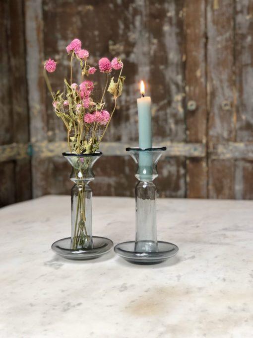 la-soufflerie-porta-candele-smoky-glass-candlestick-holder