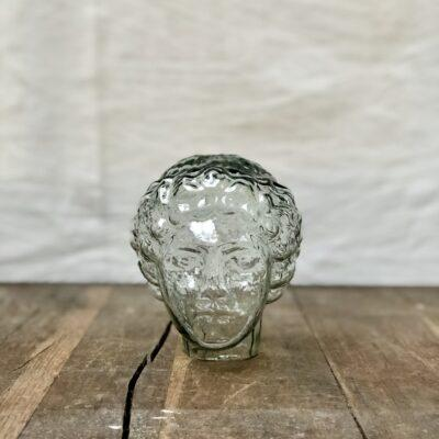 la-soufflerie-athena-glass-head-sculpture-hand-blown-transparent-recycled-glass