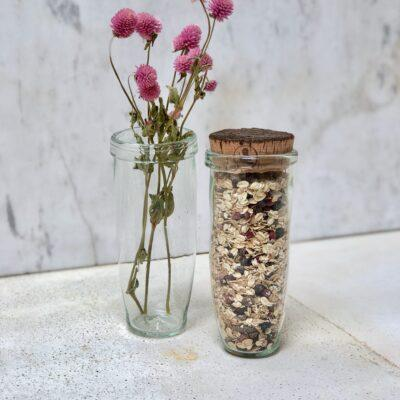 bocal-jar-transparent-hand-blown-recycled-glass-with-cork-top