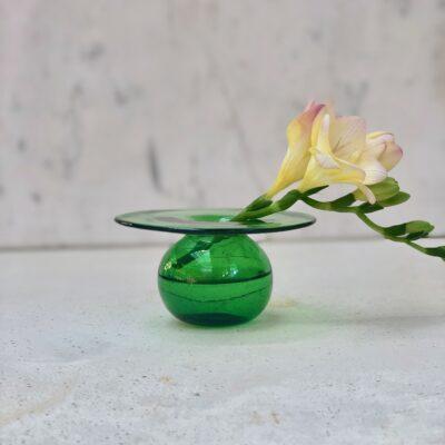 la-soufflerie-cd-green-bud-vase-hand-blown-recycled-glass