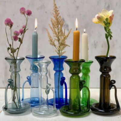 la-soufflerie-porta-candele-candle-stick-holder-hand-blown-recycled-glass-handmade