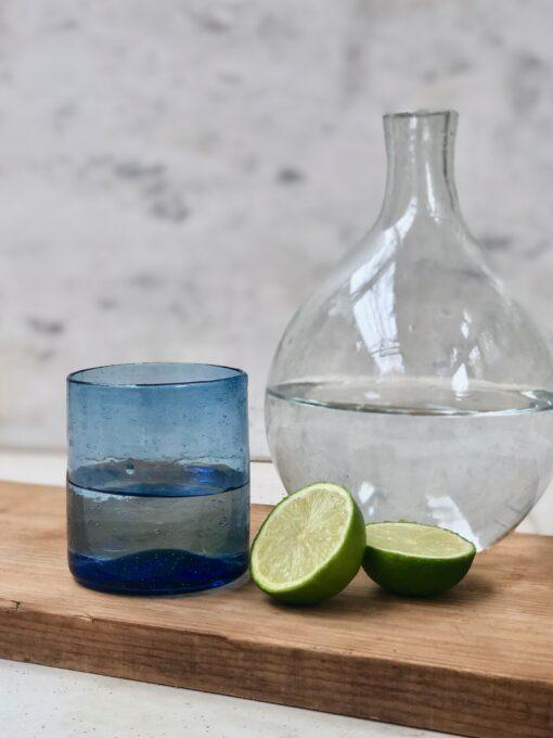 rodi-glass-color-mix-light-blue-with-rotonda-carafe-and-lime