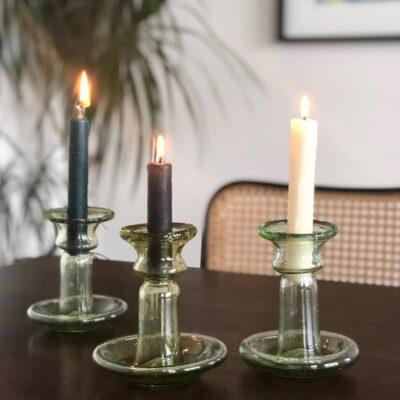 porta-candele-piccolo-color-mix-yellow-transparent-with-candles