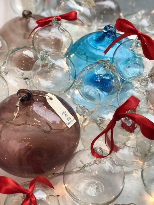 boule-holiday-balls-baubles-purple-turquoise-transparent-hand-blown-recycled-glass