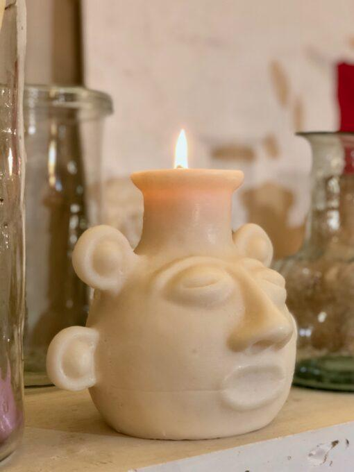 la-soufflerie-incas-bougie-head-shaped-candle-all-natural-wax-sculpture