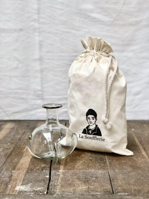 la-soufflerie-cesky-bud-vase-complimentary-gift-bag-transparent-hand-blown-recycled-glass