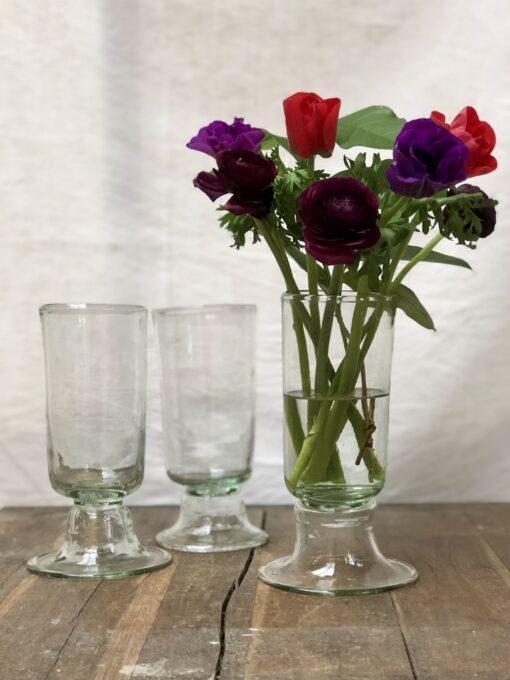 la-soufflerie-chope-vase-transparent-hand-blown-recycled-glass-handmade