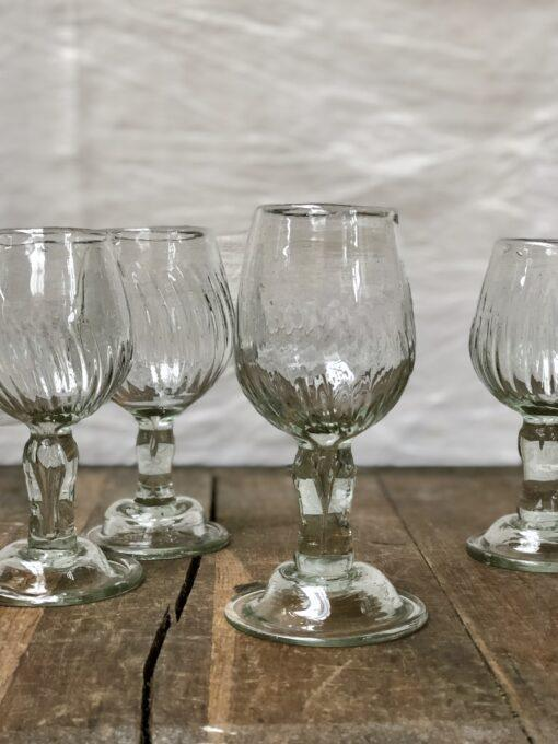 la-soufflerie-corvina-beveled-wine-glass-transparent-hand-blown-recycled-glass-handmade