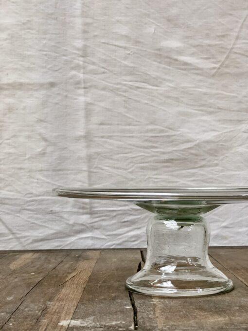 la-soufflerie-opera-cake-plate-platter-transparent-hand-blown-recycled-glass