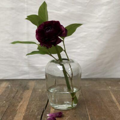 la-soufflerie-yoshi-small-vase-transparent-hand-blown-recycled-glass-handmade