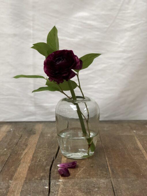 la-soufflerie-yoshi-small-vase-transparent-hand-blown-recycled-glass-handmade