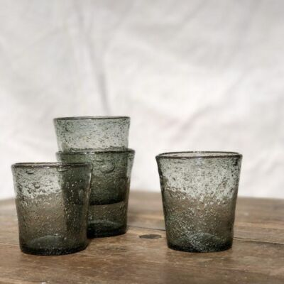 la-soufflerie-lyonnais-quinquet-grey-drinking-glass-votive-handmade-hand-blown-recycled-glass