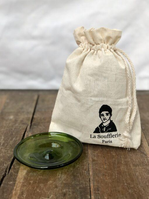 la-soufflerie-assiette-10cm-olive-small-plate-with-gift-bag