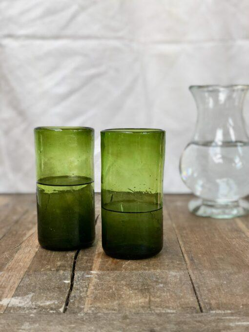 la-soufflerie-ice-tea-olive-drinking-glass-hand-blown-recycled-glass