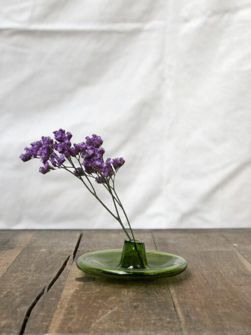 incense-holder-olive-bud-vase-hand-blown-recycled-glass