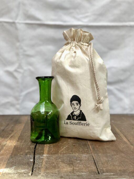 la-soufflerie-jermane-olive-gift-bag-vase-carafe-hand-blown-recycled-glass