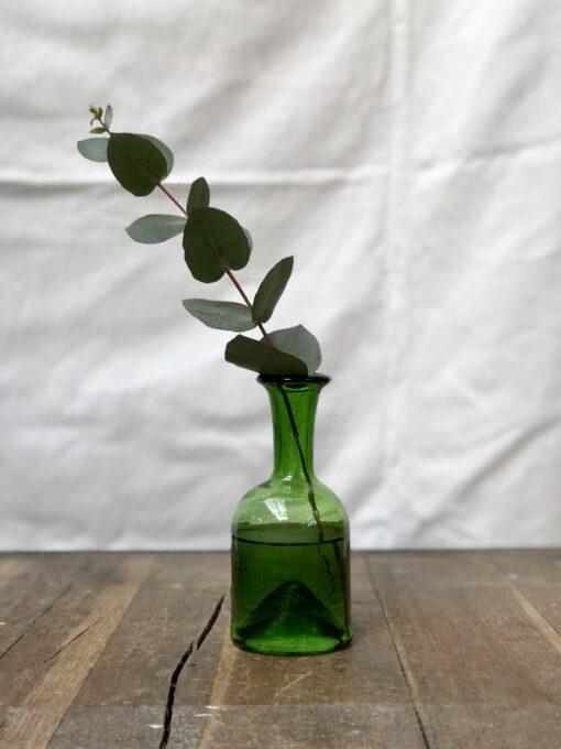 la-soufflerie-jermane-olive-vase-carafe-bud-vase-hand-made-hand-blown-recycled-glass