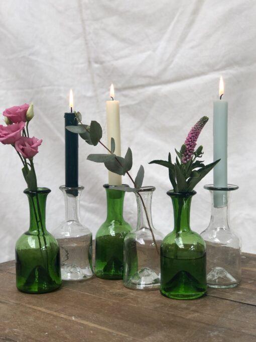 la-soufflerie-jermane-olive-transparent-vase-carafe-bud-vase-candle-stick-holder-hand-blown-recycled-glass
